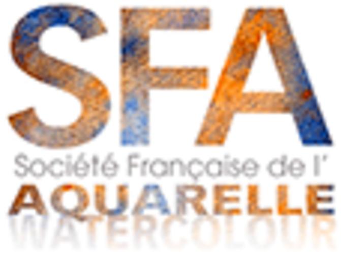 Sennelier, l'Aquarelle exclusive de la Société Française d'Aquarelle logo-sfa-2019-site10